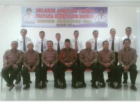 Seleksi Terbuka Jabatan Pimpinan Tinggi Pratama Sekretaris Daerah Kabupaten Padang Lawas Utara Tahun